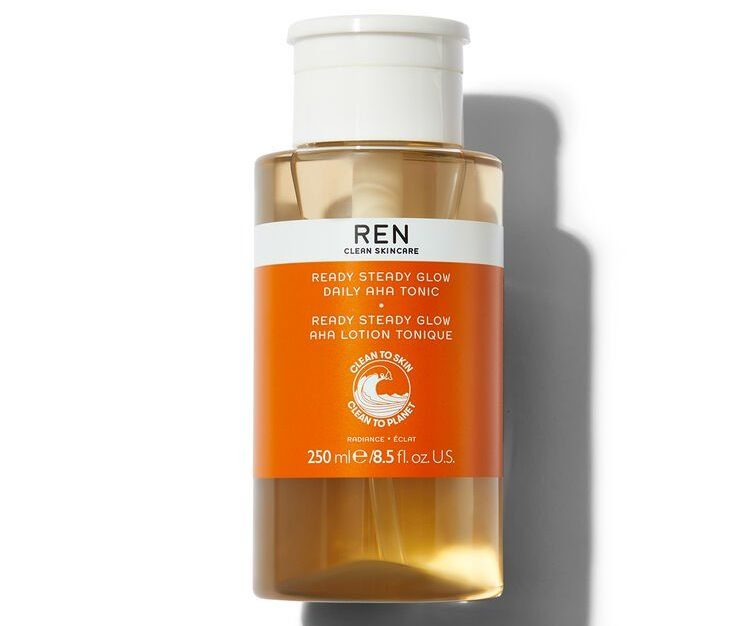 My Celebrity Life – Ren Clean Skincare Ready Steady Glow Daily AHA Tonic