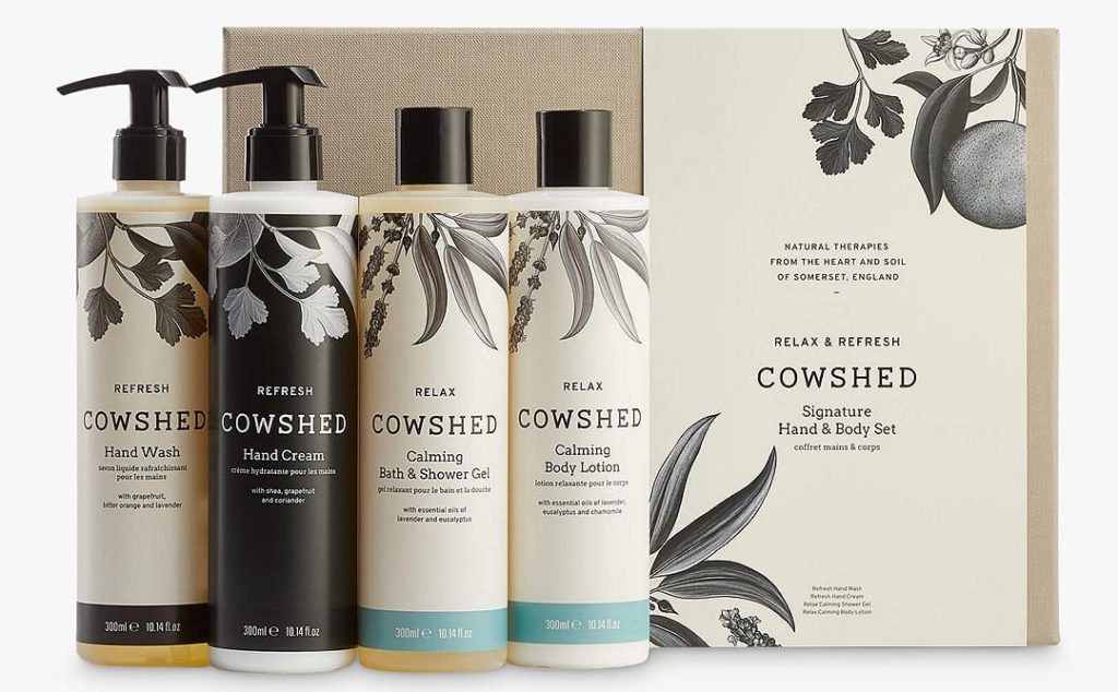 Cowshed Signature Hand & Body Collection Bodycare Gift Set