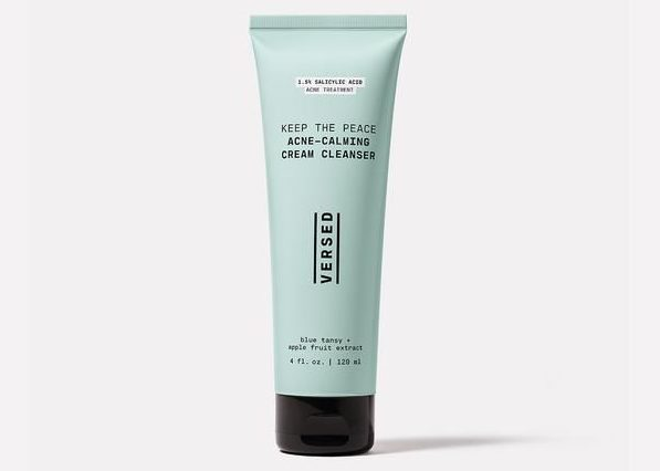 My Celebrity Life – Versed Keep the Peace AcneCalming Cream Cleanser