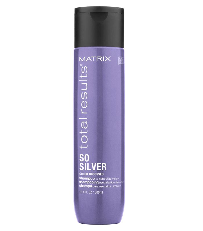 Matrix Total Results So Silver Purple Shampoo for Toning Blondes, Greys and Silvers