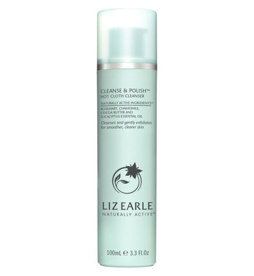 My Celebrity Life – Liz Earle Cleanse Polish Hot Cloth Cleanser
