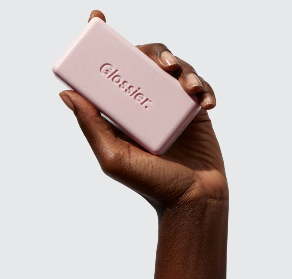 Glossier Body Hero Exfoliating Bar, $, available at Glossier