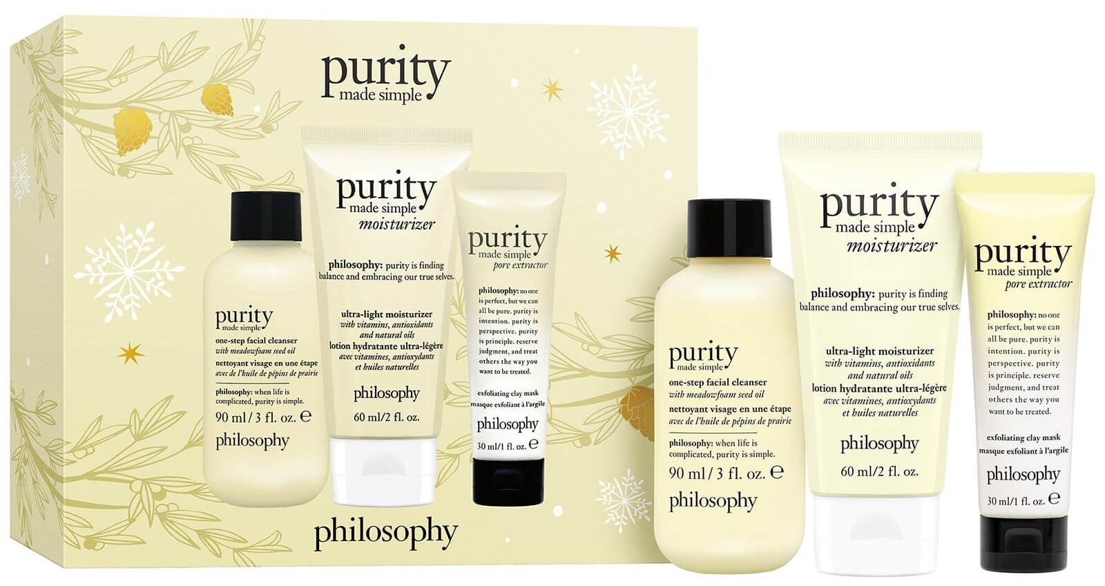 Philosophy Purity Made Simple Holiday Gift Set