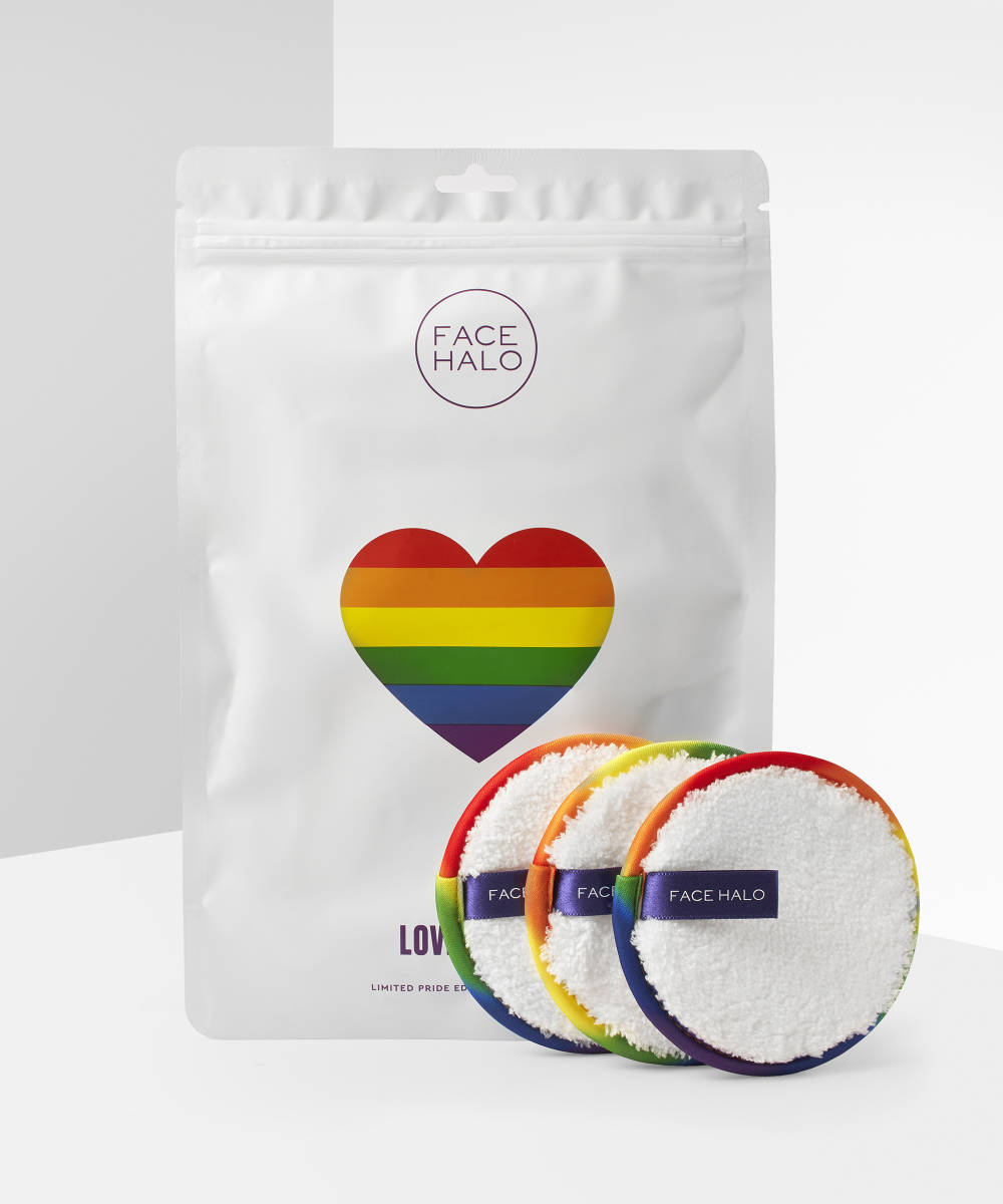 My Celebrity Life – FACE HALO LOVE IS LOVE MAKEUP REMOVER PADS LIMITED EDITION