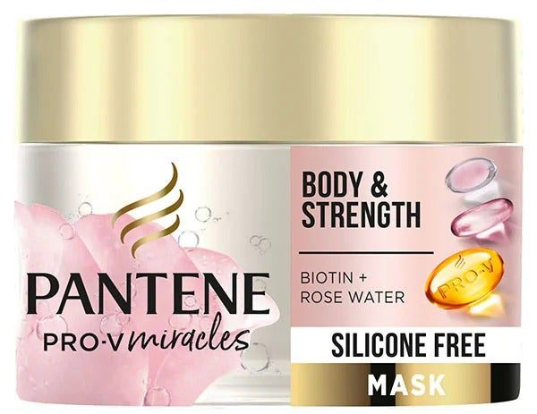 My Celebrity Life – Pantene Body Strength Silicone Free Hair Mask