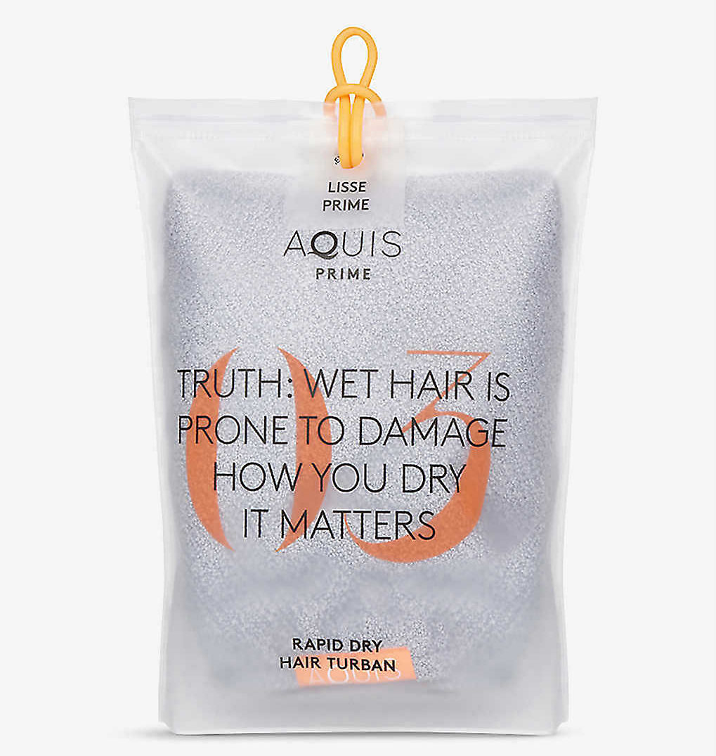 My Celebrity Life – Aquis Lisse Luxe hair towel