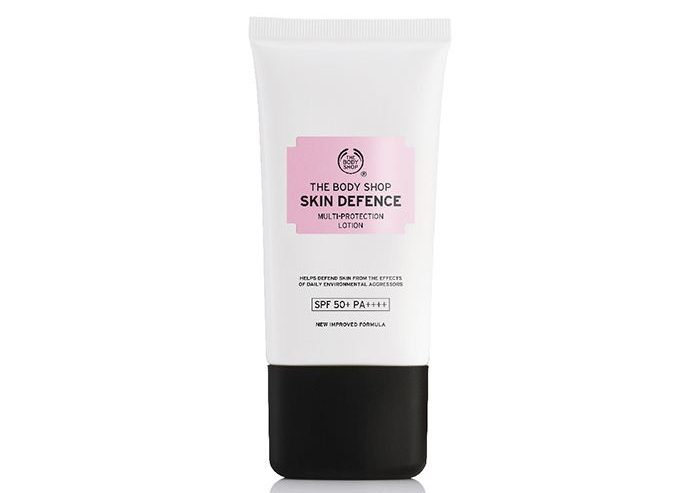 My Celebrity Life – The Body Shop Skin Defence MultiProtection Lotion SPF 50+ PA++++