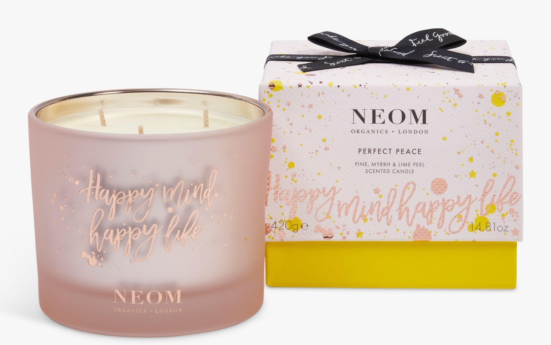 My Celebrity Life – Neom Organics Perfect Peace 3 Wick Scented Candle