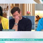 My Celebrity Life – Alison and Dermot were in fits of giggles over the miniscule meal Picture ITV