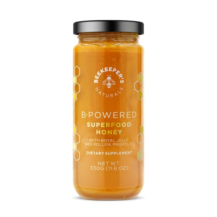 My Celebrity Life – Beekeepers Naturals B Powered Superfood Honey