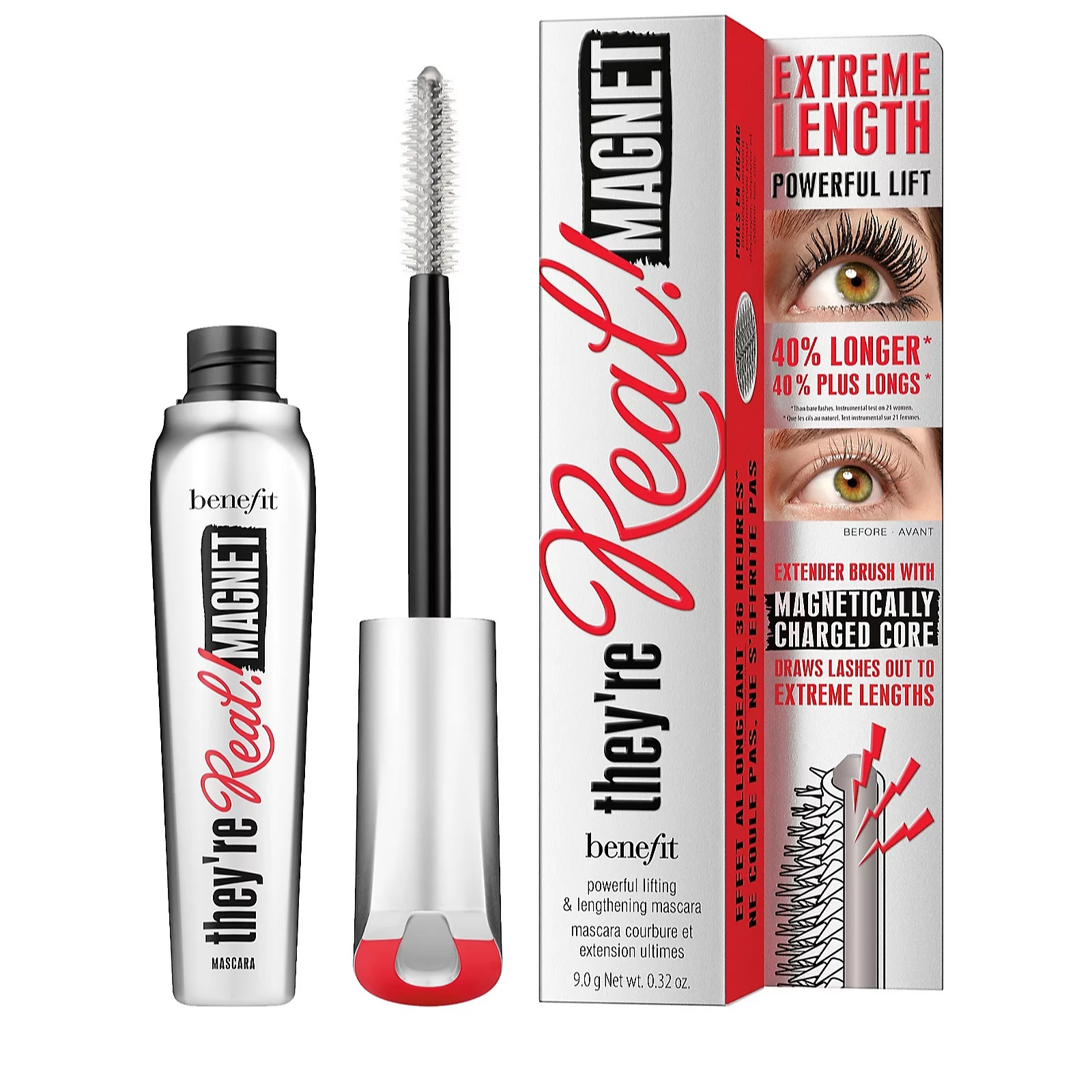 My Celebrity Life – benefit Theyre Real Magnet Extreme Lengthening and Powerful Lifting Mascara