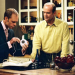 My Celebrity Life – David Hyde Pierce left and Kelsey Grammer right played brothers on classic sitcom Picture Channel 4