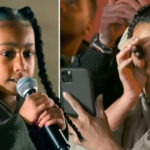 My Celebrity Life – Kim Kardashian is a proud mother after her sevenyearold daughter North completed an amazing painting Picture Kim KardashianE