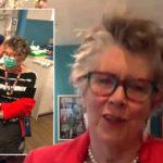 My Celebrity Life – Prue Leith has had both of her coronavirus jabs Picture ITV