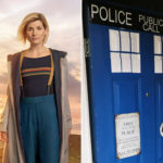 My Celebrity Life – A Doctor Who fan has turned her front door into a Tardis Picture BBCSWNS