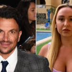 My Celebrity Life – Peter Andre was not impressed with influencers like Sheridan Mordew using loopholes to travel for work Picture GettyITV