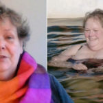 My Celebrity Life – Anne Hegerty swam with dolphins in The Chasers Road Trip Picture ITV