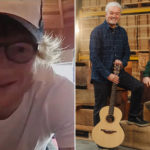 My Celebrity Life – Ed Sheeran is giving away two of his guitars Picture YouTubePA