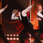 My Celebrity Life – Torvill and Dean took to the ice for a shadow dance and a dab Picture ITVRex