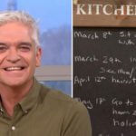 My Celebrity Life – Phillip Schofield is looking forward to hugs after lockdown ends Picture RexInstagram