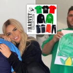 My Celebrity Life – Harvey Price has designed his own clothing collection Picture Instagram