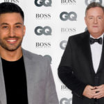 My Celebrity Life – Could Giovanni dance with Piers Morgan Picture BBC ITV