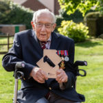 My Celebrity Life – Captain Sir Tom Moore became the oldest person to land a UK number one song Picture PA
