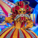 My Celebrity Life – The Masked Singers Harlequin was revealed to be Gabrielle Picture ITV