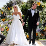 My Celebrity Life – Billy Vincent and Susie Bradley were one of the last couples to head down the aisle Picture NIne