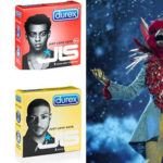 My Celebrity Life – Masked Singer viewers reckon the JLS condoms prove Robin is Aston Merrygold PictureITVBritish Condoms