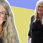 My Celebrity Life – Professor Mary Beard says people get anxious about women with long grey hair Picture RexGetty