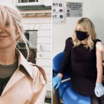 My Celebrity Life – The star has received her jab Picture courtneyloveInstagram