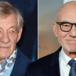 My Celebrity Life – Sir Ian McKellen left and Sir Patrick Stewart right are among the stars appealing for a deal Picture REX