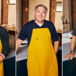 My Celebrity Life – LR Tom Read Wilson Ed Balls and Rachel Johnson fought for the crown of Celebrity Best Home Cook PictureBBC
