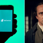 My Celebrity Life – Richard Harrington got a job as a Deliveroo driver over lockdown PictureGettyBBC