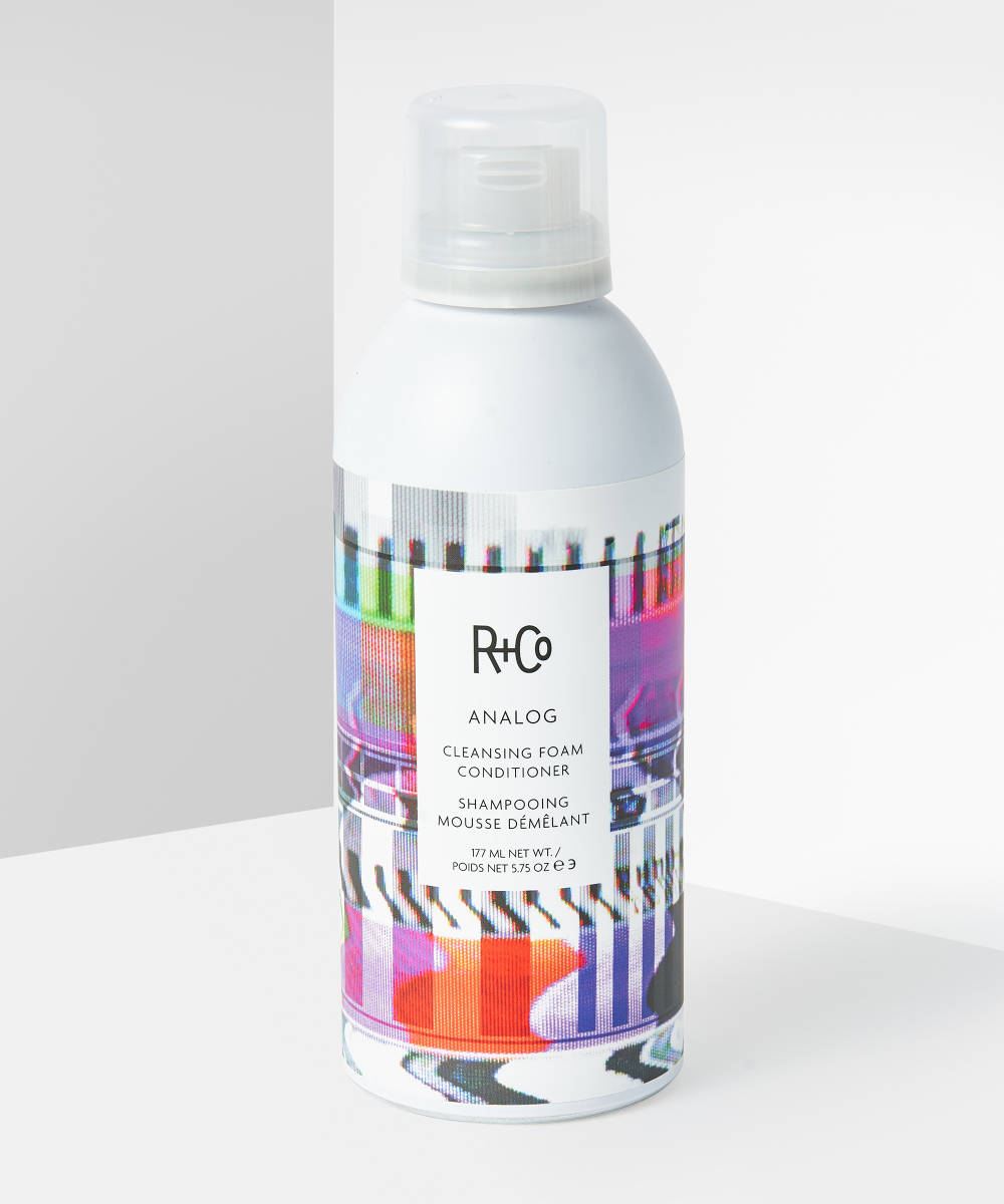 My Celebrity Life – R+CO ANALOG CLEANSING FOAM CONDITIONER