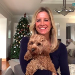 My Celebrity Life – Saffron appeared in front of her Christmas tree on This Morning Picture ITV