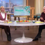 My Celebrity Life – Holly and Phil apologised for the error Picture ITV