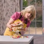 My Celebrity Life – Rachel Johnsons cake fell to pieces Picture BBC