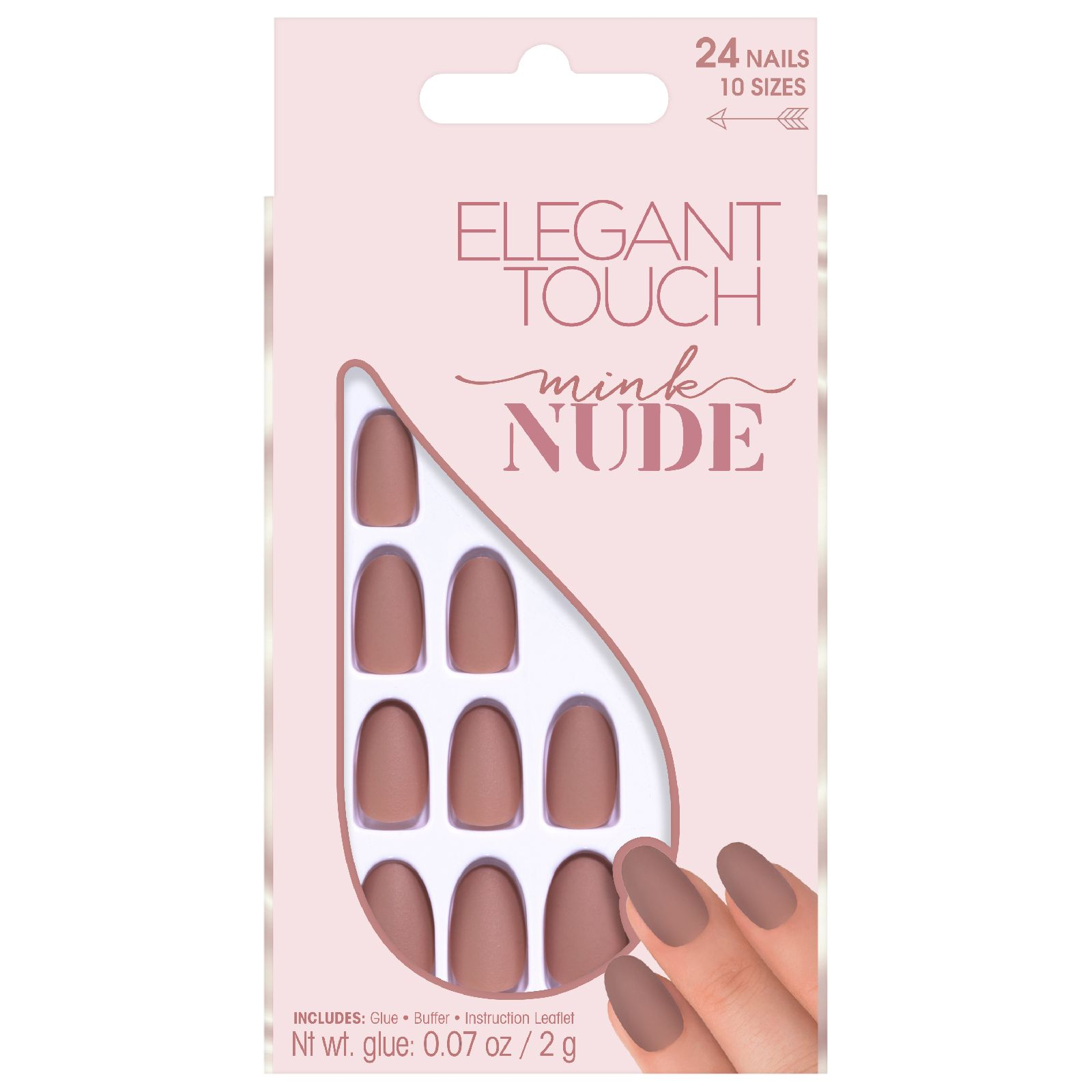 My Celebrity Life – Elegant Touch Nude Collection Nails in Mink