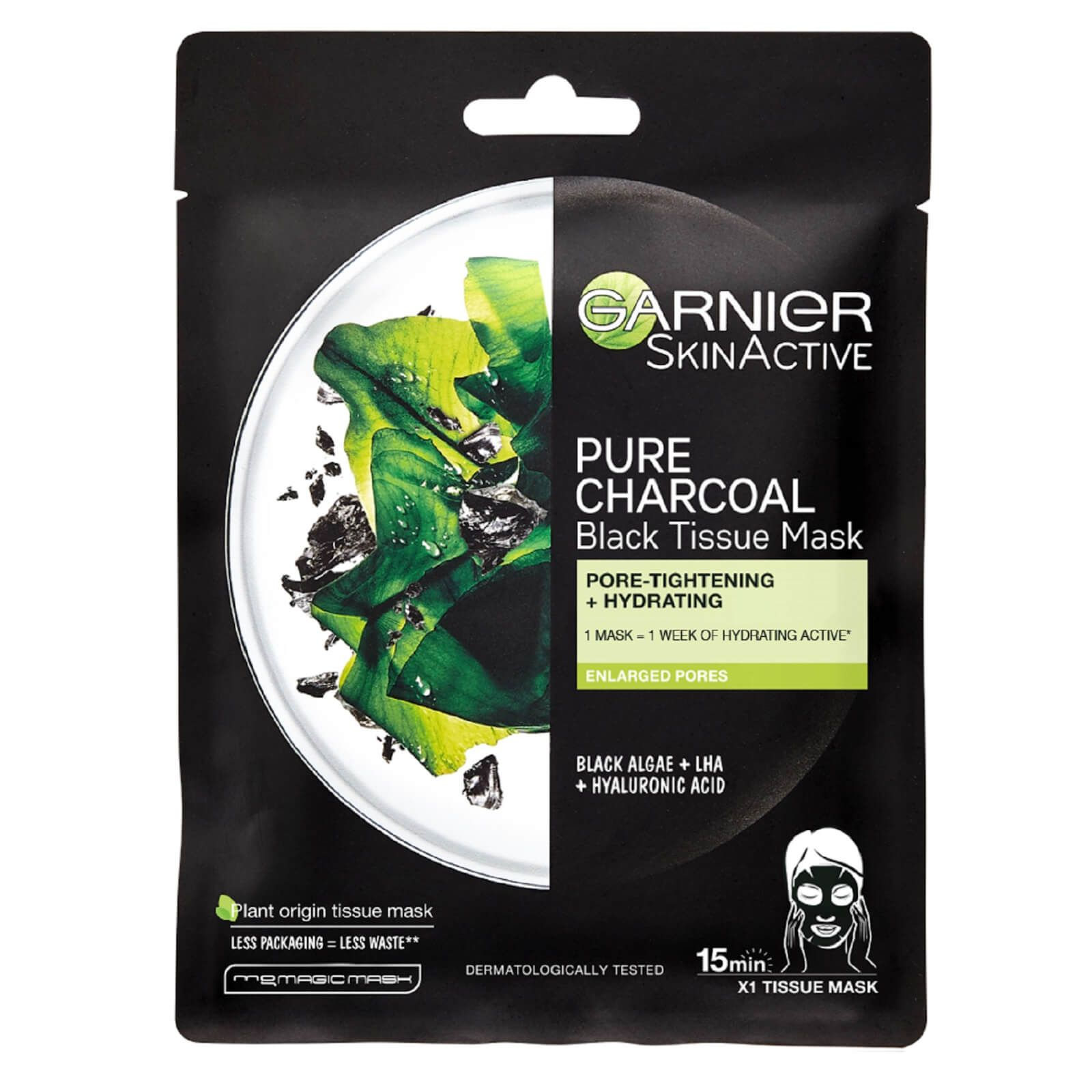 My Celebrity Life – Garnier Charcoal and Algae Purifying and Hydrating Face Sheet Mask for Enlarged Pores