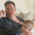 My Celebrity Life – Elon Musk has shared a photo of his eightmonthold baby son with musician Grimes Picture Getty Images