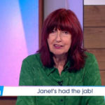 My Celebrity Life – Janet Street Porter booked an appointment for the coronavirus vaccine Picture ITVREX