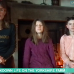 My Celebrity Life – Amanda doesnt put pressure on her kids to homeschool Picture ITV
