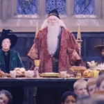 My Celebrity Life – Tom grandfather far right played another Hogwarts professor Picture Warner Bros