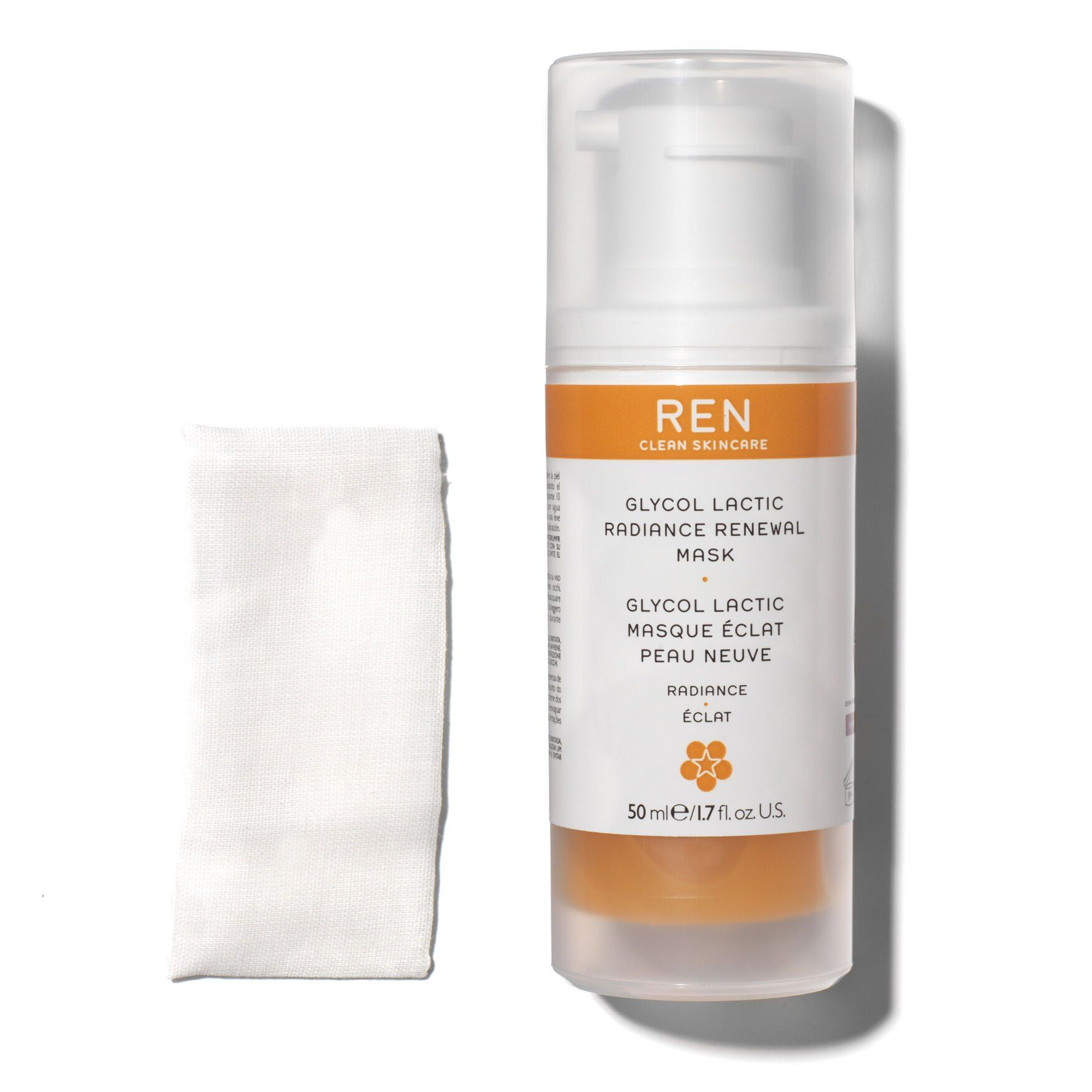 My Celebrity Life – Ren Clean Skincare Glycol Lactic Radiance Renewal Mask