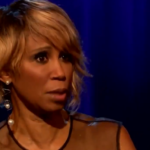 My Celebrity Life – Trisha Goddard thanked a nurse for saving her life Picture ITV