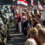 My Celebrity Life – Protests have broken out following the Belarusian election Picture AFP