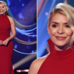 My Celebrity Life – Dancing on Ice fans have stepped in to defend Holly Willoughbys choice of dress Picture Rex
