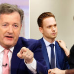 My Celebrity Life – Patrick J Adams has responded to Piers Morgans GMB exit Picture Rex NBC